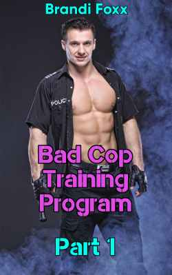 cover design for the book entitled Bad Cop Training Program