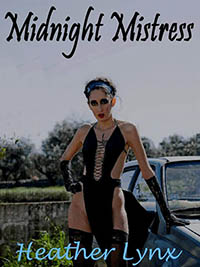 cover design for the book entitled MIDNIGHT MISTRESS