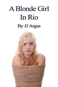 cover design for the book entitled A Blonde Girl In Rio