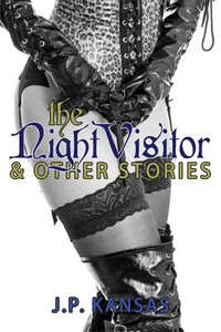 cover design for the book entitled The Night Visitor & Other Stories