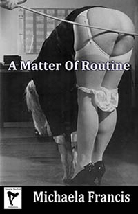 cover design for the book entitled A Matter Of Routine