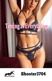 cover design for the book entitled Timing Is Everything