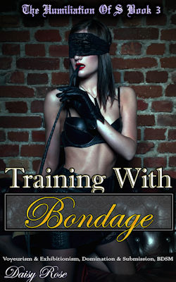 cover design for the book entitled Training with Bondage