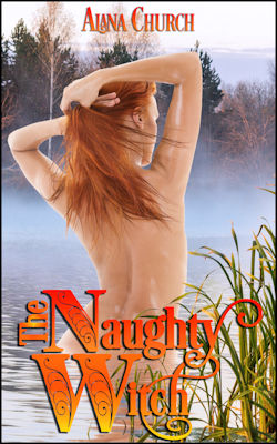 The Naughty Witch by Alana Church