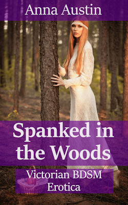 cover design for the book entitled Spanked In The Woods