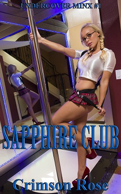 cover design for the book entitled Sapphire Club