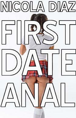 cover design for the book entitled First Date Anal