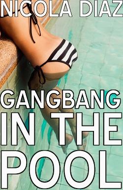 Gangbang In The Pool