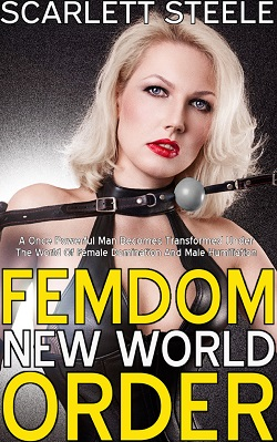 cover design for the book entitled Femdom New World Order