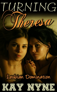 cover design for the book entitled Turning Theresa