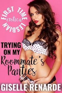 cover design for the book entitled Trying on My Roommate