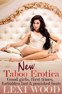 cover design for the book entitled New Taboo Erotica