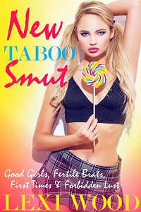 cover design for the book entitled New Taboo Smut