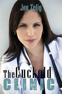 cover design for the book entitled The Cuckold Clinic