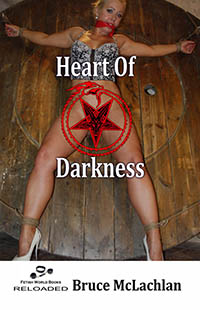 cover design for the book entitled Heart of Darkness