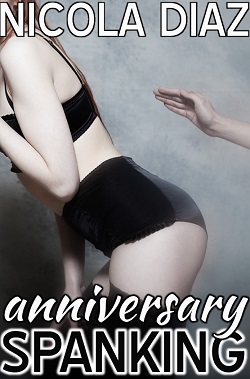 cover design for the book entitled Anniversary Spanking