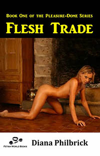 cover design for the book entitled Flesh Trade