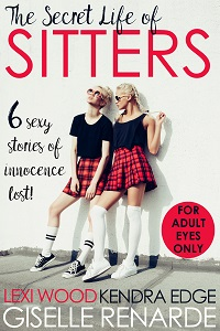 cover design for the book entitled The Secret Life of Sitters