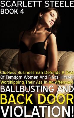 Clueless Businessman Defends A Duo Of Femdom Women