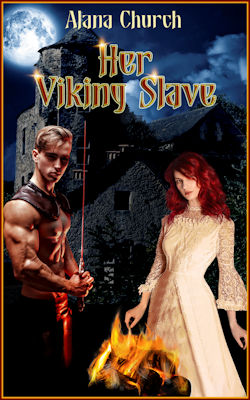 cover design for the book entitled Her Viking Slave