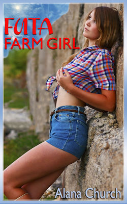 cover design for the book entitled Futa Farm Girl