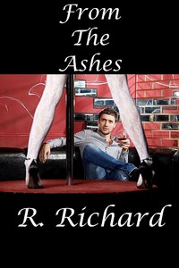 cover design for the book entitled From The Ashes