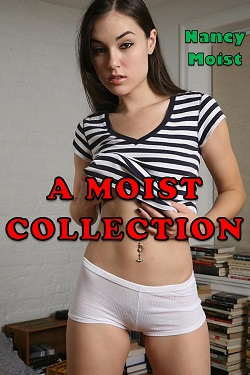 cover design for the book entitled A Moist Collection