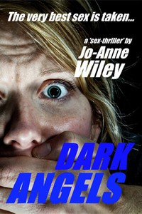 cover design for the book entitled Dark Angels
