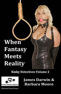 cover design for the book entitled When Fantasy Meets Reality