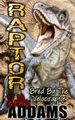 cover design for the book entitled Raptor