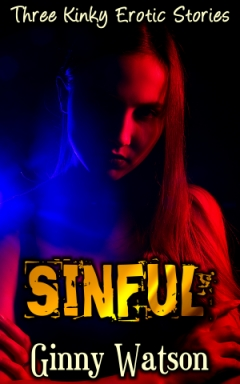 cover design for the book entitled Sinful