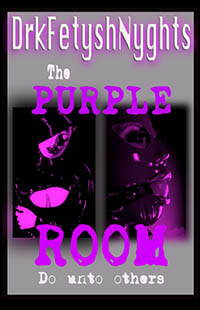 cover design for the book entitled THE PURPLE ROOM