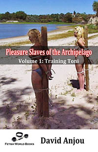 cover design for the book entitled Pleasure Slaves of the Archipelago
