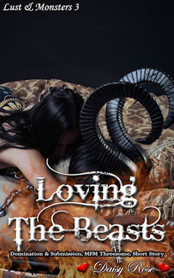cover design for the book entitled Loving The Beasts