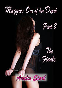 cover design for the book entitled Maggie: Out of her Depth - Part Two - The Finale
