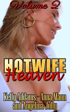 cover design for the book entitled Hotwife Heaven