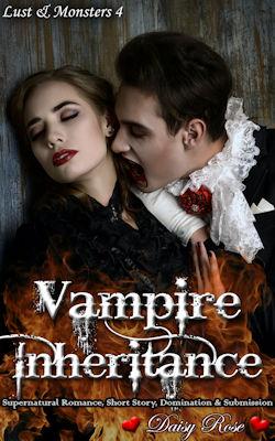 cover design for the book entitled Vampire Inheritance