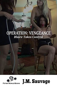 cover design for the book entitled Operation: Vengeance