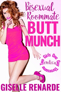 cover design for the book entitled Bisexual Roommate Butt Munch