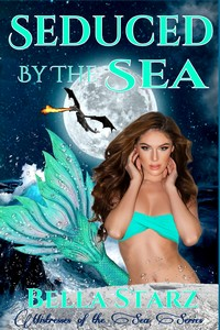 cover design for the book entitled Seduced By The Sea