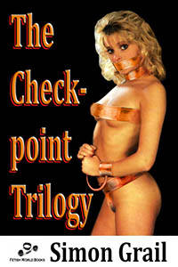 cover design for the book entitled The Checkpoint Trilogy