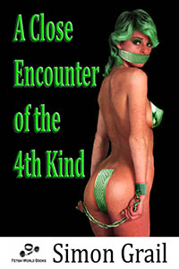cover design for the book entitled A Close Encounter of the 4th Kind