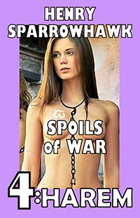 cover design for the book entitled Spoils of War Episode 4: HAREM