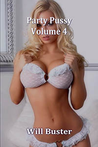 cover design for the book entitled Party Pussy - Volume 4