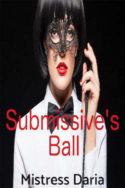 cover design for the book entitled Submissive
