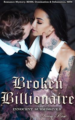 cover design for the book entitled Broken Billionaire