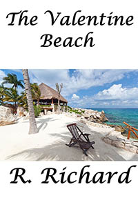 cover design for the book entitled The Valentine Beach