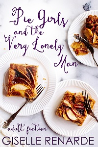 cover design for the book entitled Pie Girls and the Very Lonely Man