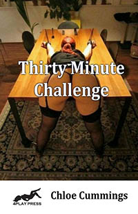 cover design for the book entitled Thirty Minute Challenge