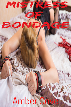 cover design for the book entitled Mistress of Bondage